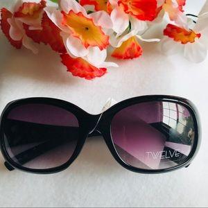 Brand New Twelve Black Sunglasses